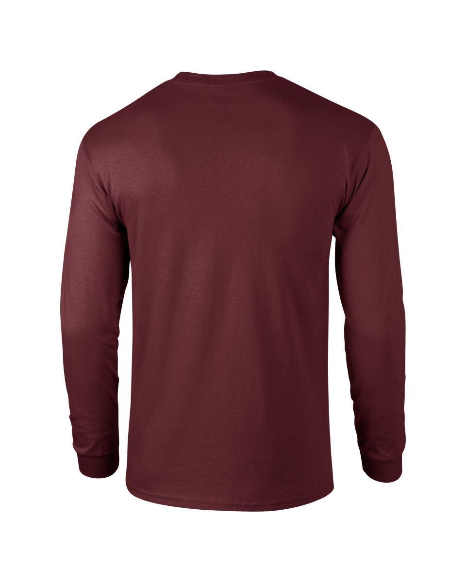 Gildan-Mens-Ultra-Cotton-Adult-Long-Sleeve-Plain-T-Shirt-Tshirt-Cotton-Tee-Shirt thumbnail 92