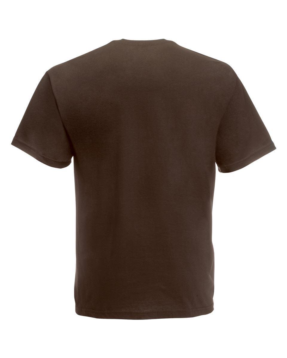 5-Pack-Men-039-s-Fruit-of-the-Loom-Plain-100-Cotton-Blank-Tee-Shirt-Tshirt-T-Shirt thumbnail 83