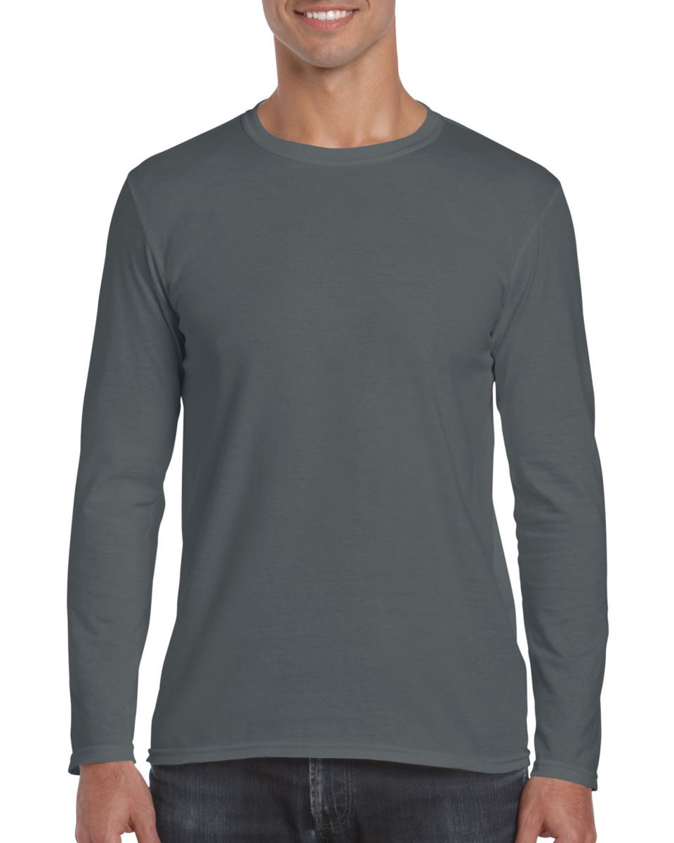 Gildan-MEN-039-S-LONG-SLEEVE-T-SHIRT-SOFT-COTTON-PLAIN-TOP-SLEEVES-CASUAL-NEW-S-2XL thumbnail 16