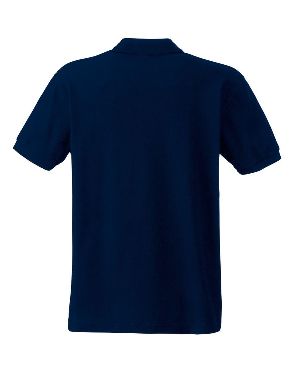 Fruit-of-the-Loom-Plain-Cotton-Mens-Polo-Shirts-T-Shirt-Short-Sleeve-Tshirt thumbnail 9