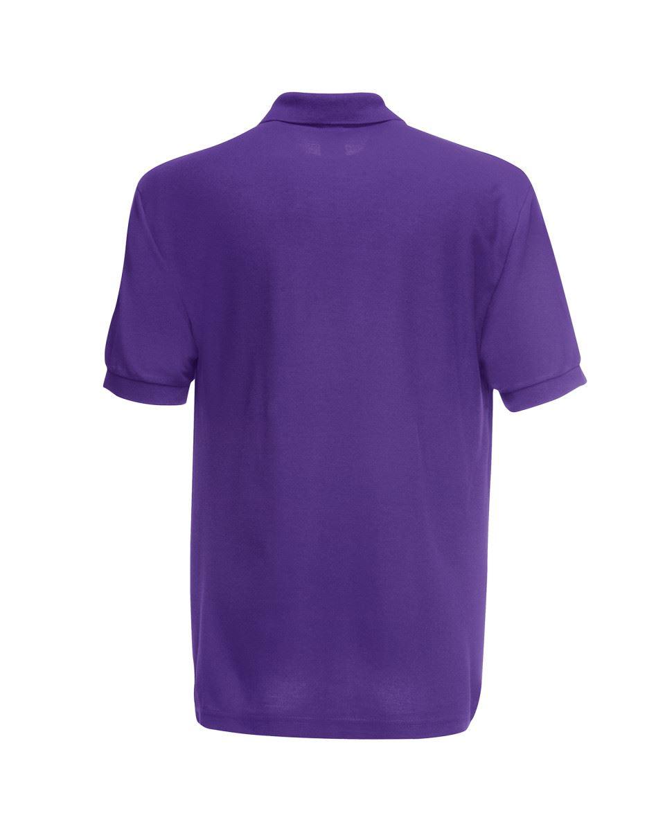 Fruit-of-the-Loom-Plain-Cotton-Mens-Polo-Shirts-T-Shirt-Short-Sleeve-Tshirt thumbnail 21