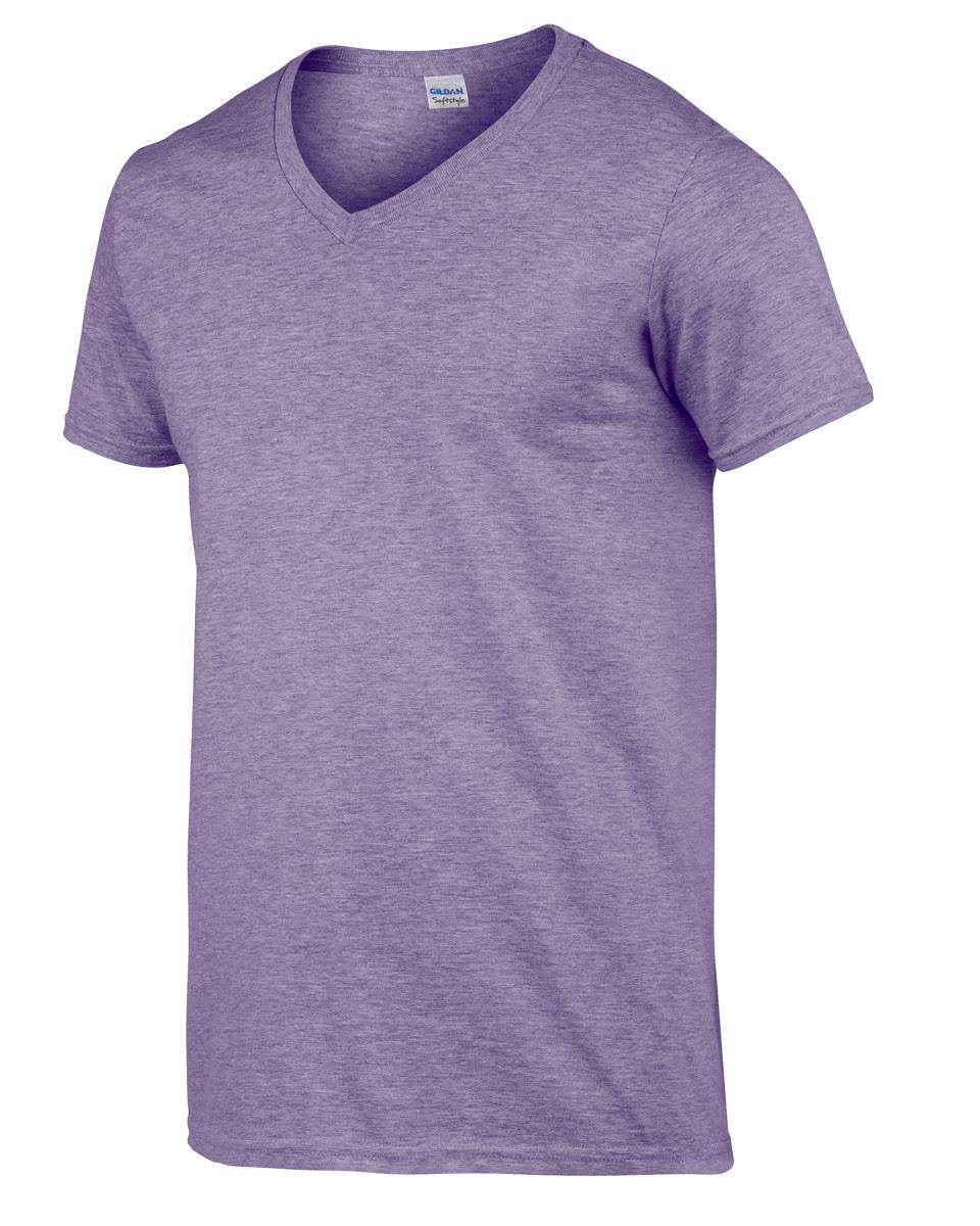 Gildan-Mens-Men-039-s-Soft-Style-Plain-V-Neck-T-Shirt-Cotton-Tee-Tshirt thumbnail 32
