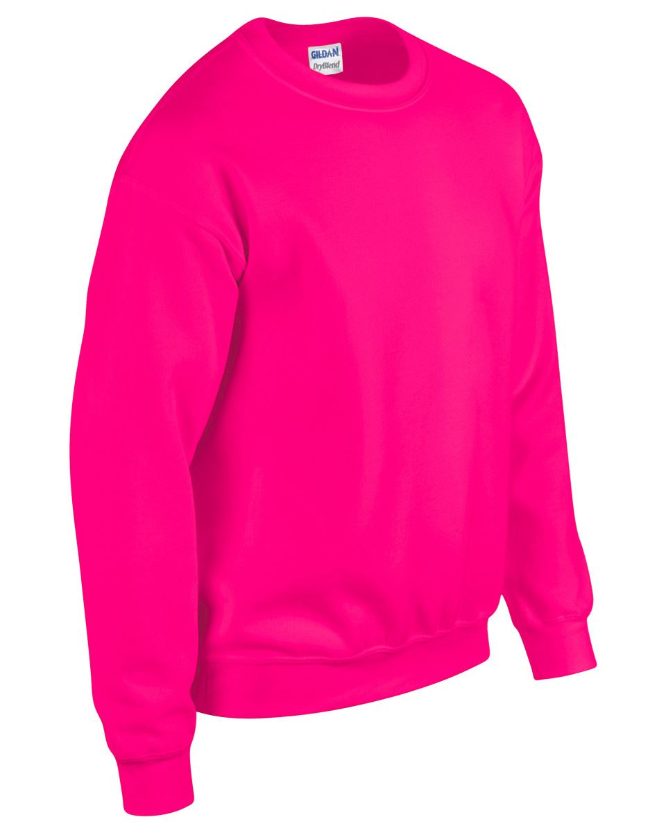 Gildan-Heavy-Blend-Adult-Crew-Neck-Pullover-Sweatshirt-Sweater-Workwear-Uniform thumbnail 144