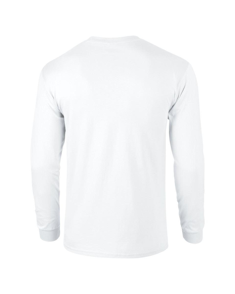 Gildan-Mens-Ultra-Cotton-Adult-Long-Sleeve-Plain-T-Shirt-Tshirt-Cotton-Tee-Shirt thumbnail 7