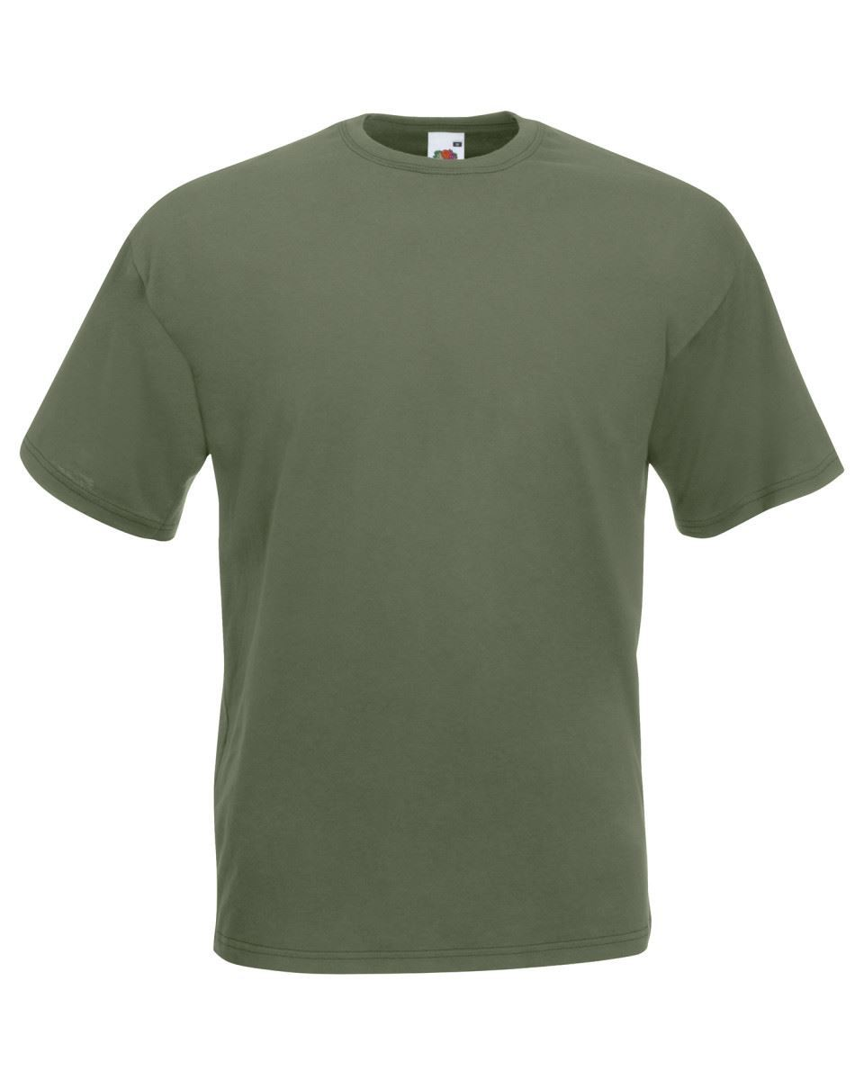 5-Pack-Men-039-s-Fruit-of-the-Loom-Plain-100-Cotton-Blank-Tee-Shirt-Tshirt-T-Shirt thumbnail 90