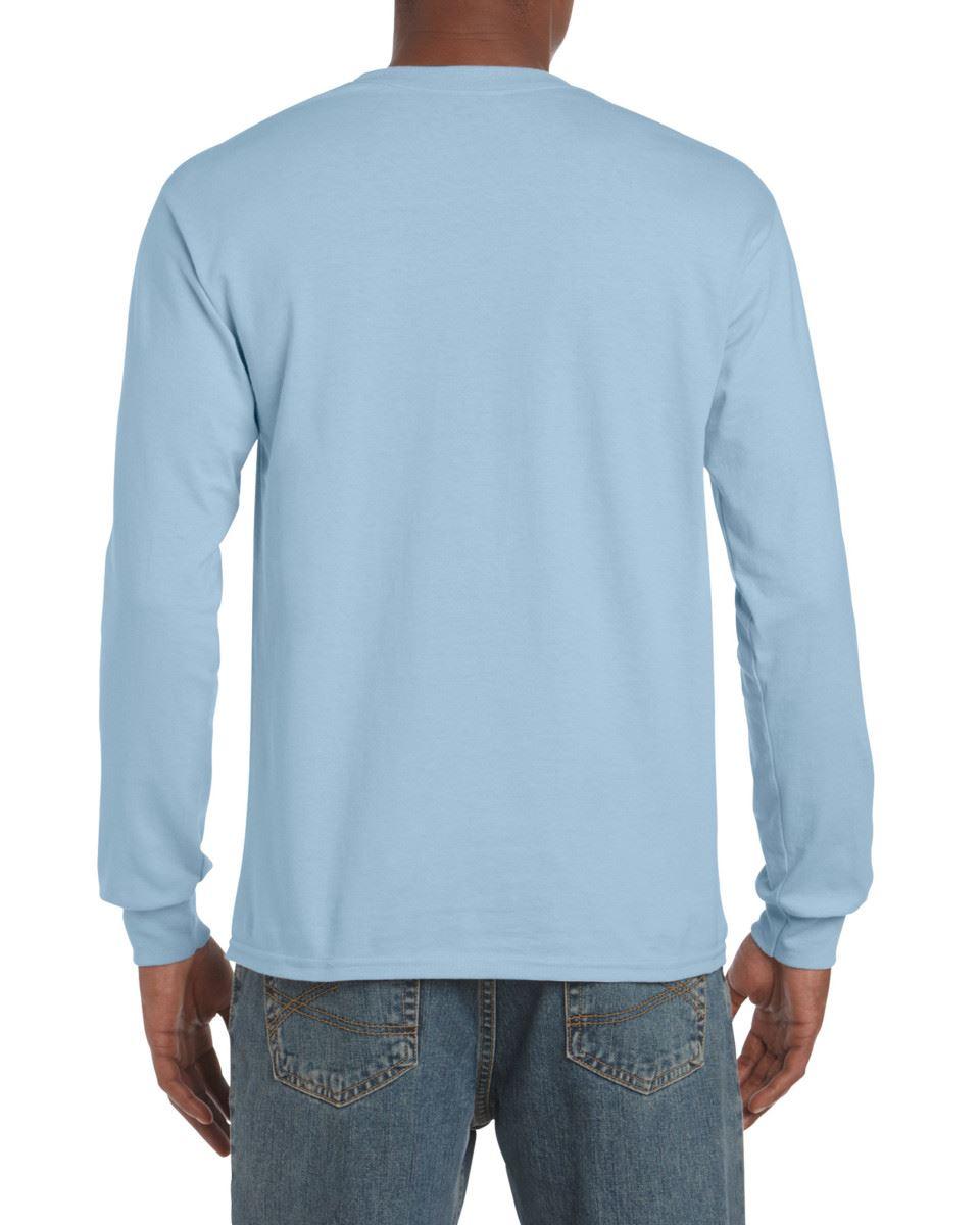 Gildan-Mens-Ultra-Cotton-Adult-Long-Sleeve-Plain-T-Shirt-Tshirt-Cotton-Tee-Shirt thumbnail 79