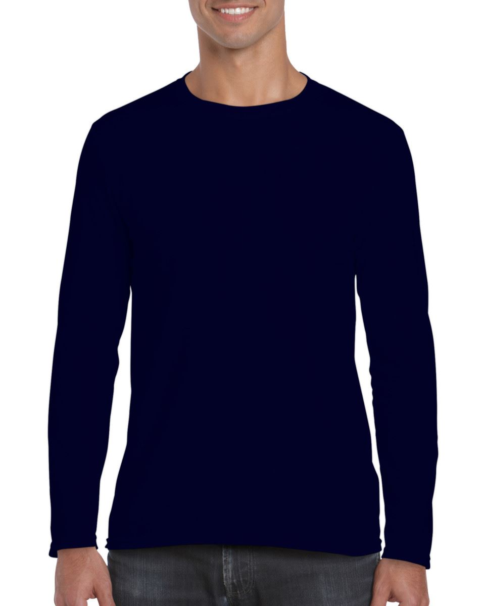Gildan-MEN-039-S-LONG-SLEEVE-T-SHIRT-SOFT-COTTON-PLAIN-TOP-SLEEVES-CASUAL-NEW-S-2XL thumbnail 21