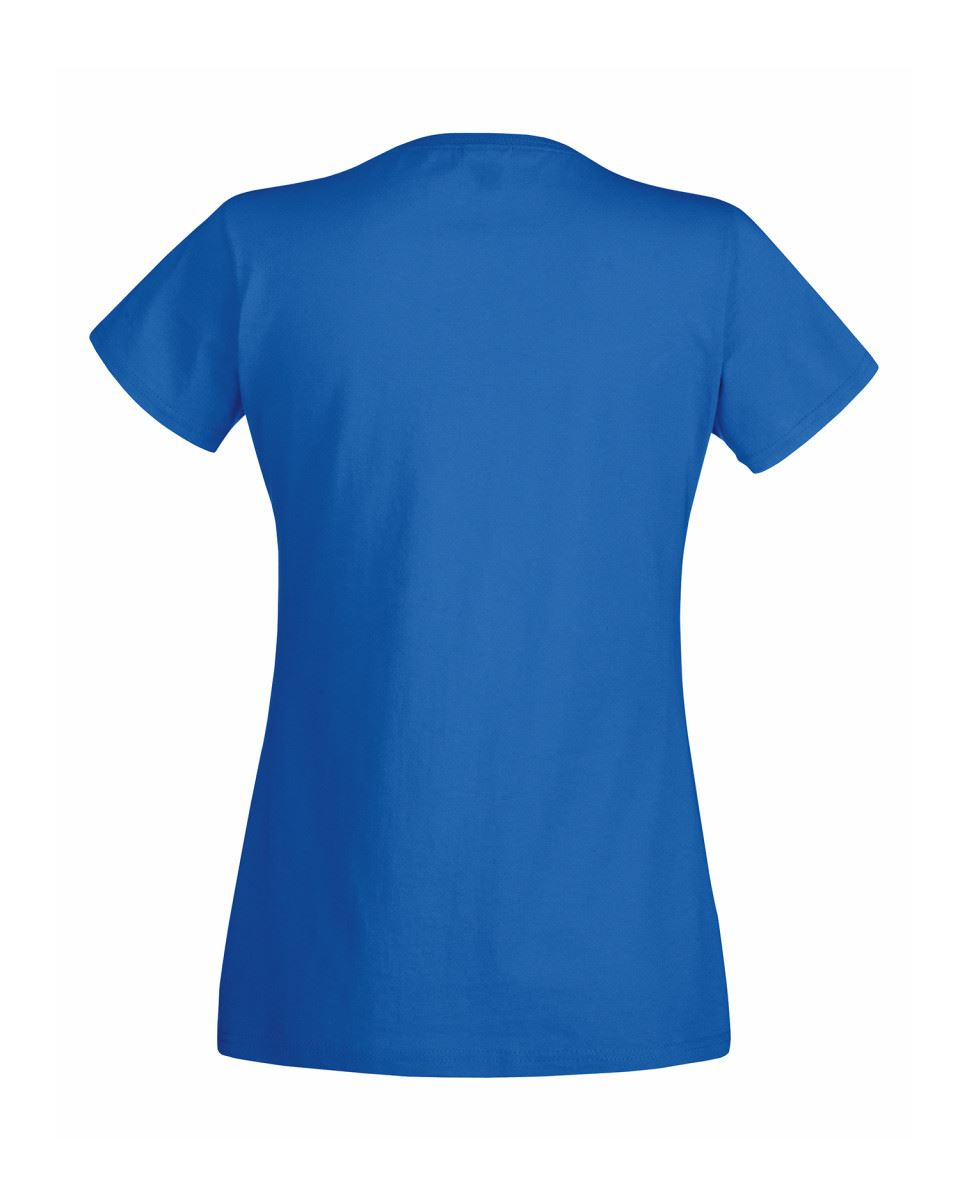 Fruit-Of-The-Loom-LADIES-T-SHIRT-V-NECK-LADY-FIT-COTTON-LYCRA-TOP-TEE-XS-2XL thumbnail 19