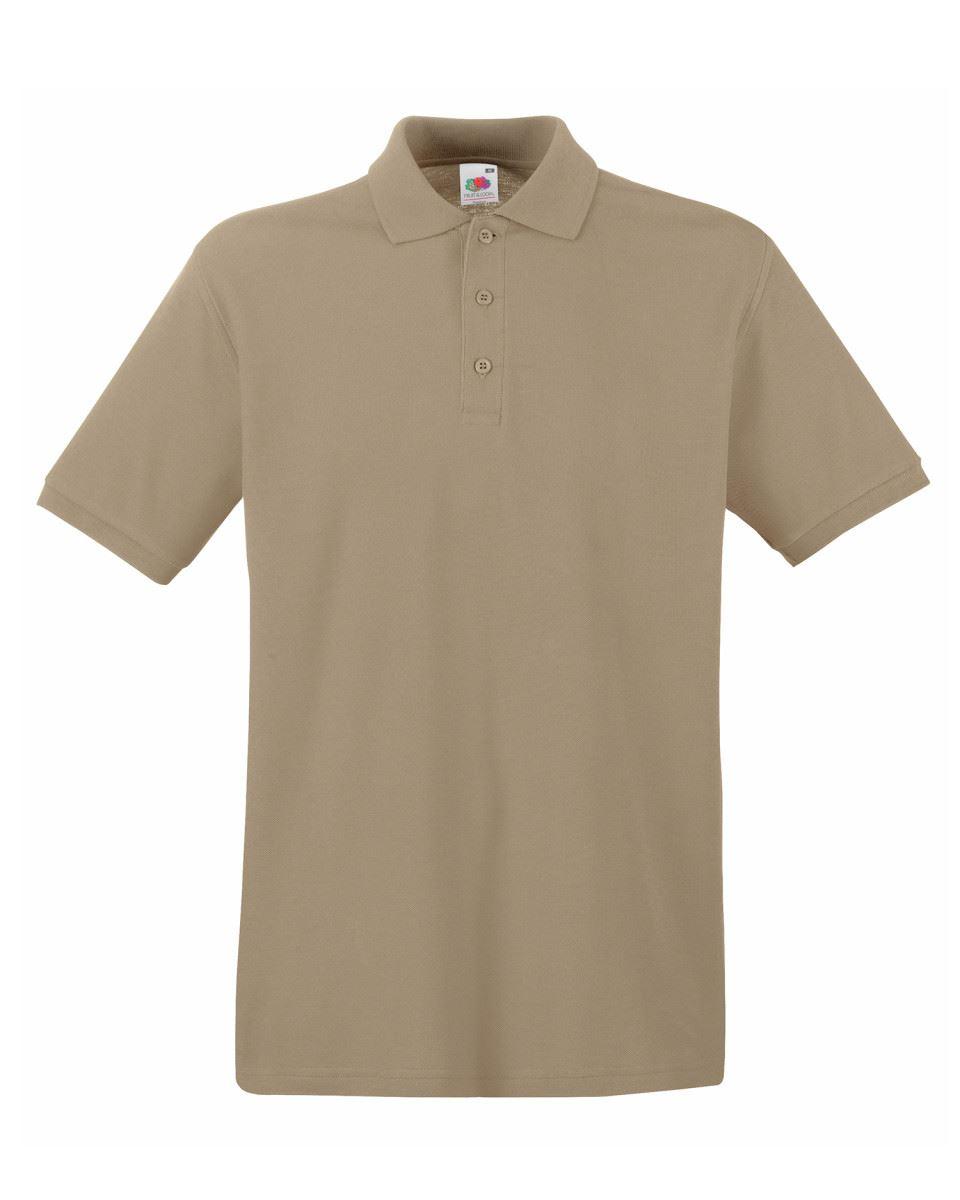 Mens-Polo-Shirts-Fruit-of-the-Loom-Premium-Polo-100-Cotton-Polo-Shirt-SS255 thumbnail 24