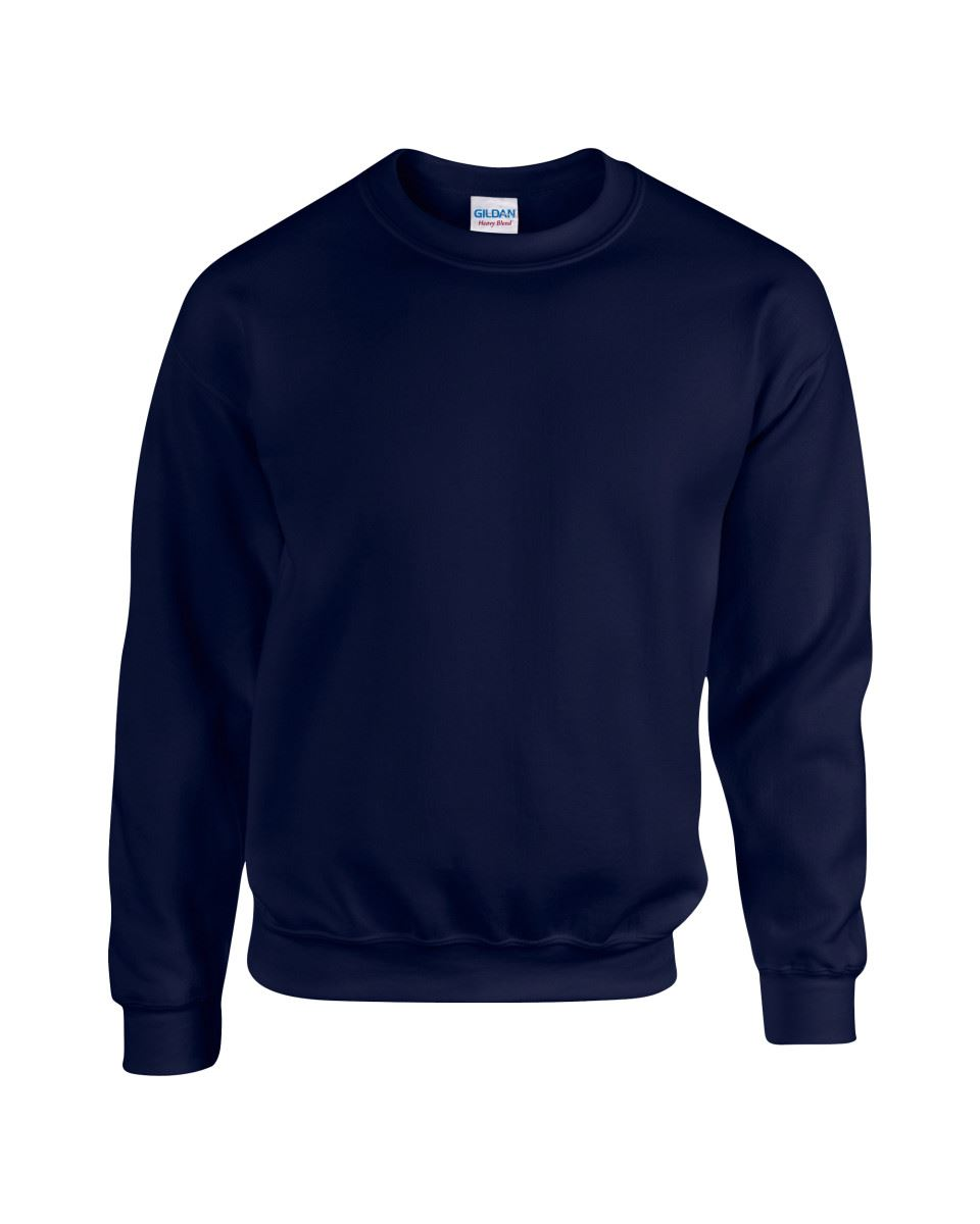 Gildan-Heavy-Blend-Adult-Crew-Neck-Pullover-Sweatshirt-Sweater-Workwear-Uniform thumbnail 20
