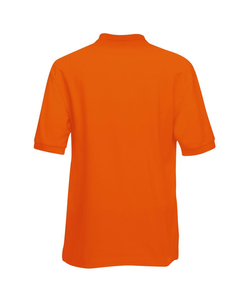 Fruit-of-the-Loom-Plain-Cotton-Mens-Polo-Shirts-T-Shirt-Short-Sleeve-Tshirt thumbnail 19
