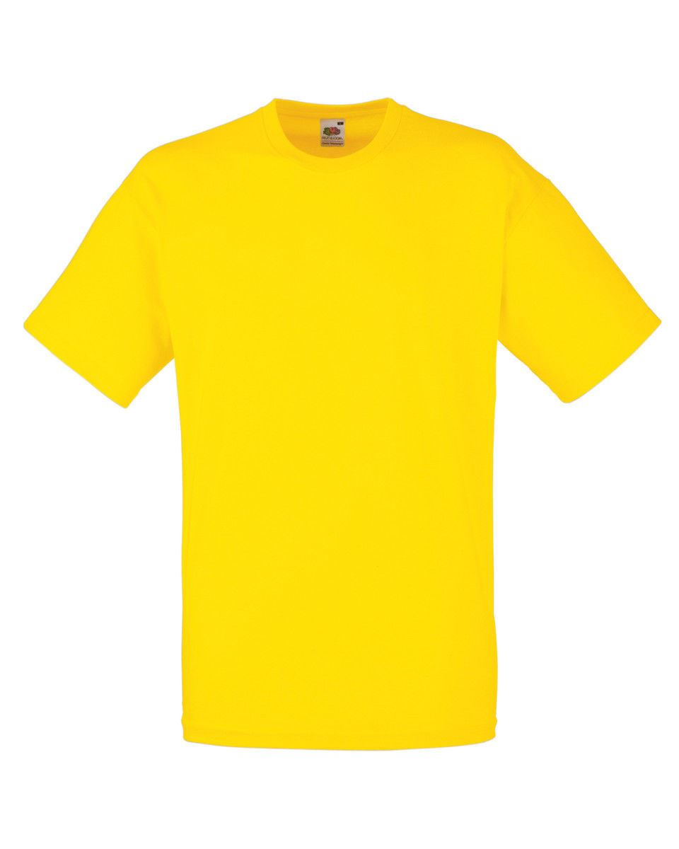 Fruit-Of-The-Loom-Mens-Womens-Valueweight-Plain-Crew-Neck-T-Shirt-Tee-Cotton thumbnail 173
