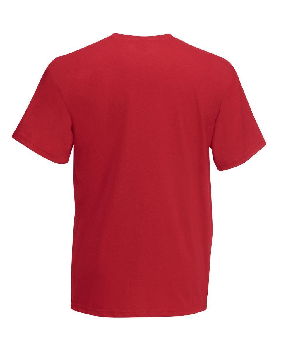 5-Pack-Men-039-s-Fruit-of-the-Loom-Plain-100-Cotton-Blank-Tee-Shirt-Tshirt-T-Shirt thumbnail 63