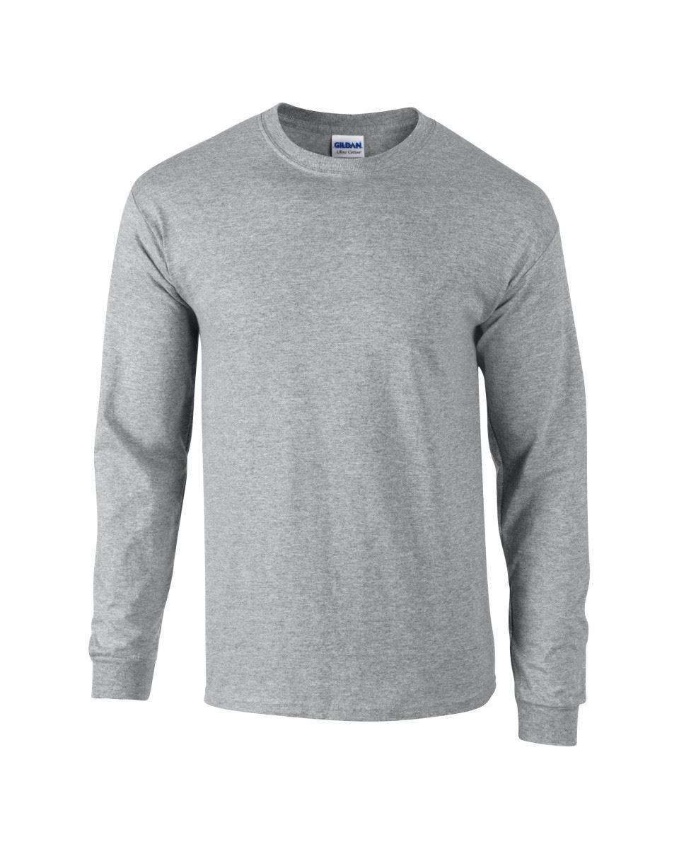 Gildan-Mens-Ultra-Cotton-Adult-Long-Sleeve-Plain-T-Shirt-Tshirt-Cotton-Tee-Shirt thumbnail 15