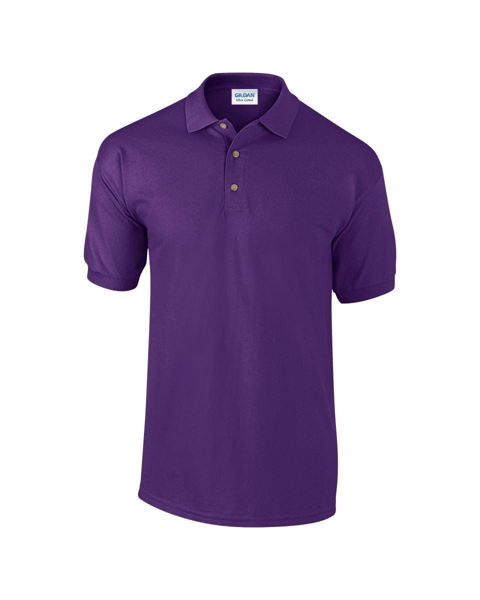 3-Pack-Gildan-Ultra-Cotton-Adult-Pique-Plain-Polo-Shirt-Tee-T-Shirt-Ringspun thumbnail 48
