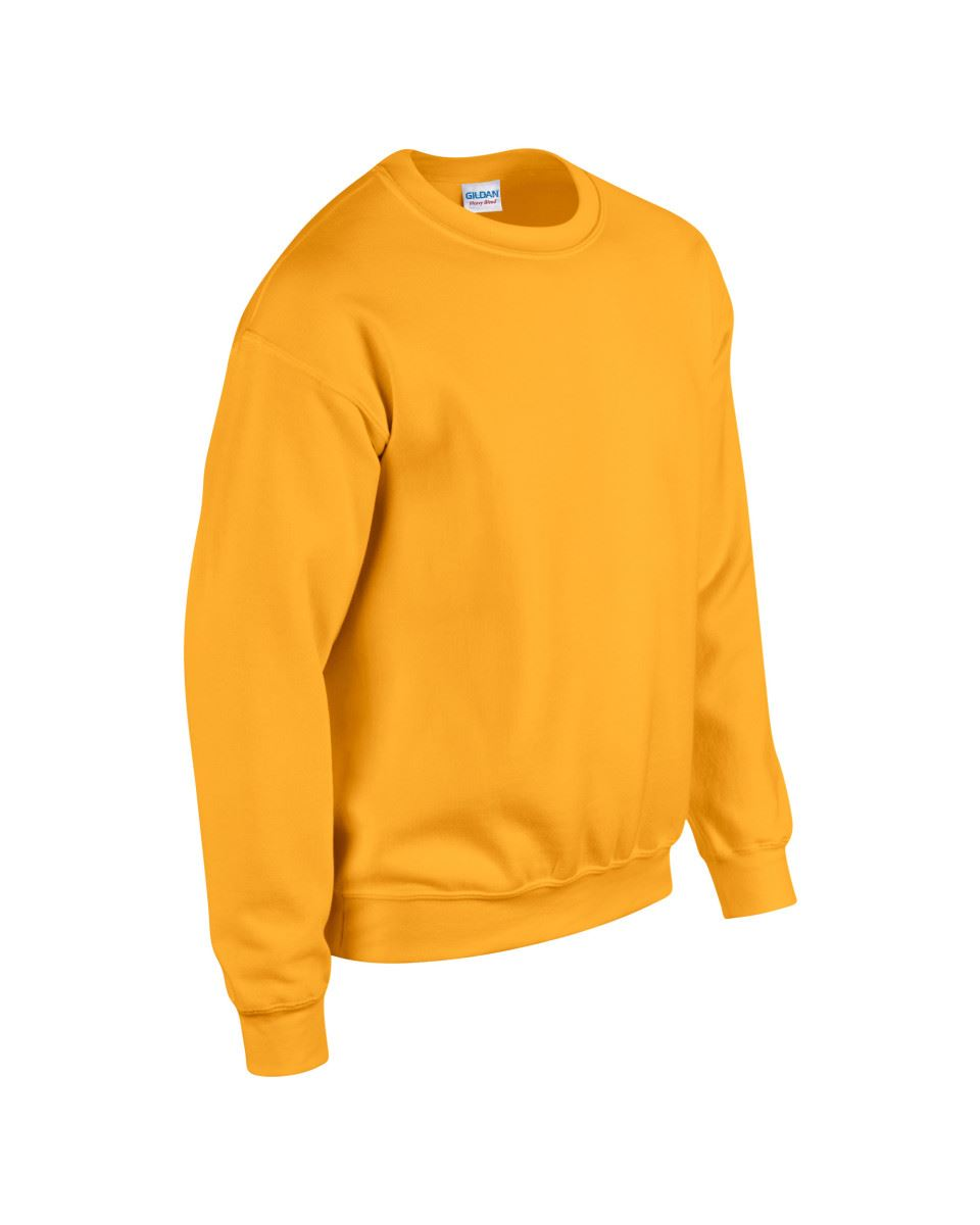 Gildan-Heavy-Blend-Adult-Crew-Neck-Pullover-Sweatshirt-Sweater-Workwear-Uniform thumbnail 80