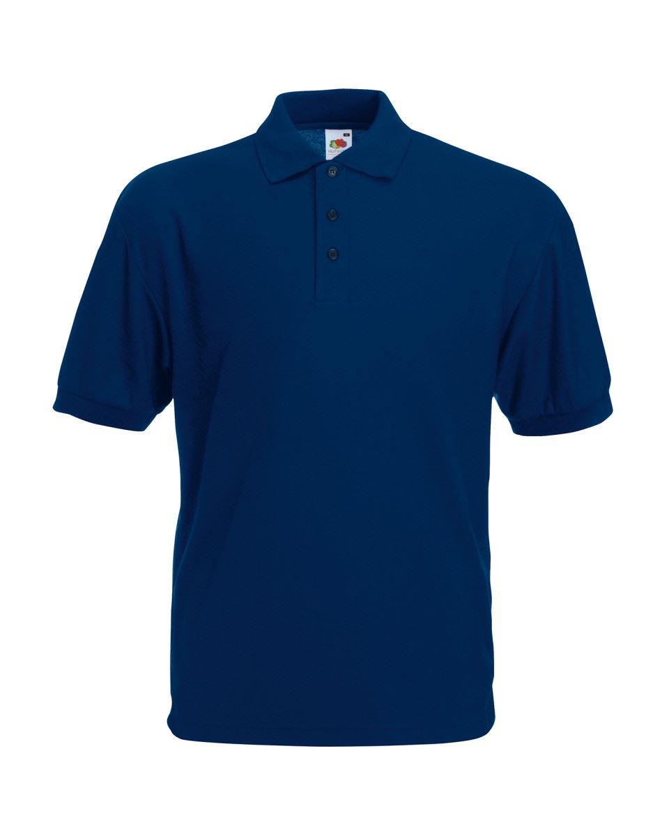 Fruit-of-the-Loom-Plain-Cotton-Mens-Polo-Shirts-T-Shirt-Short-Sleeve-Tshirt thumbnail 16
