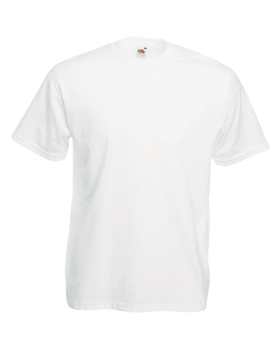 Fruit-Of-The-Loom-Mens-Womens-Valueweight-Plain-Crew-Neck-T-Shirt-Tee-Cotton thumbnail 7