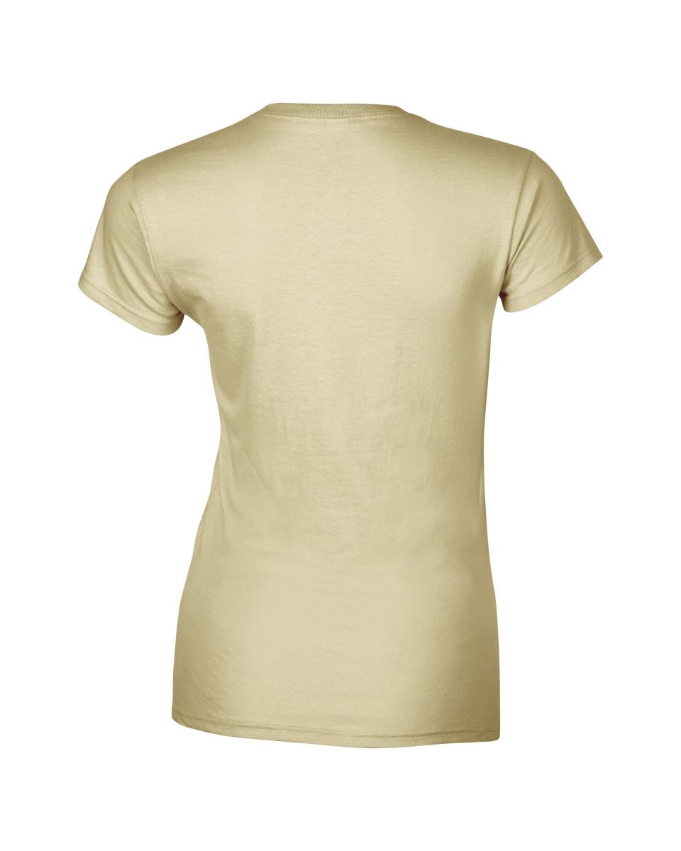 Gildan-Womens-Ladies-Soft-Style-Plain-V-Neck-T-Shirt-Cotton-Tee-Tshirt thumbnail 134