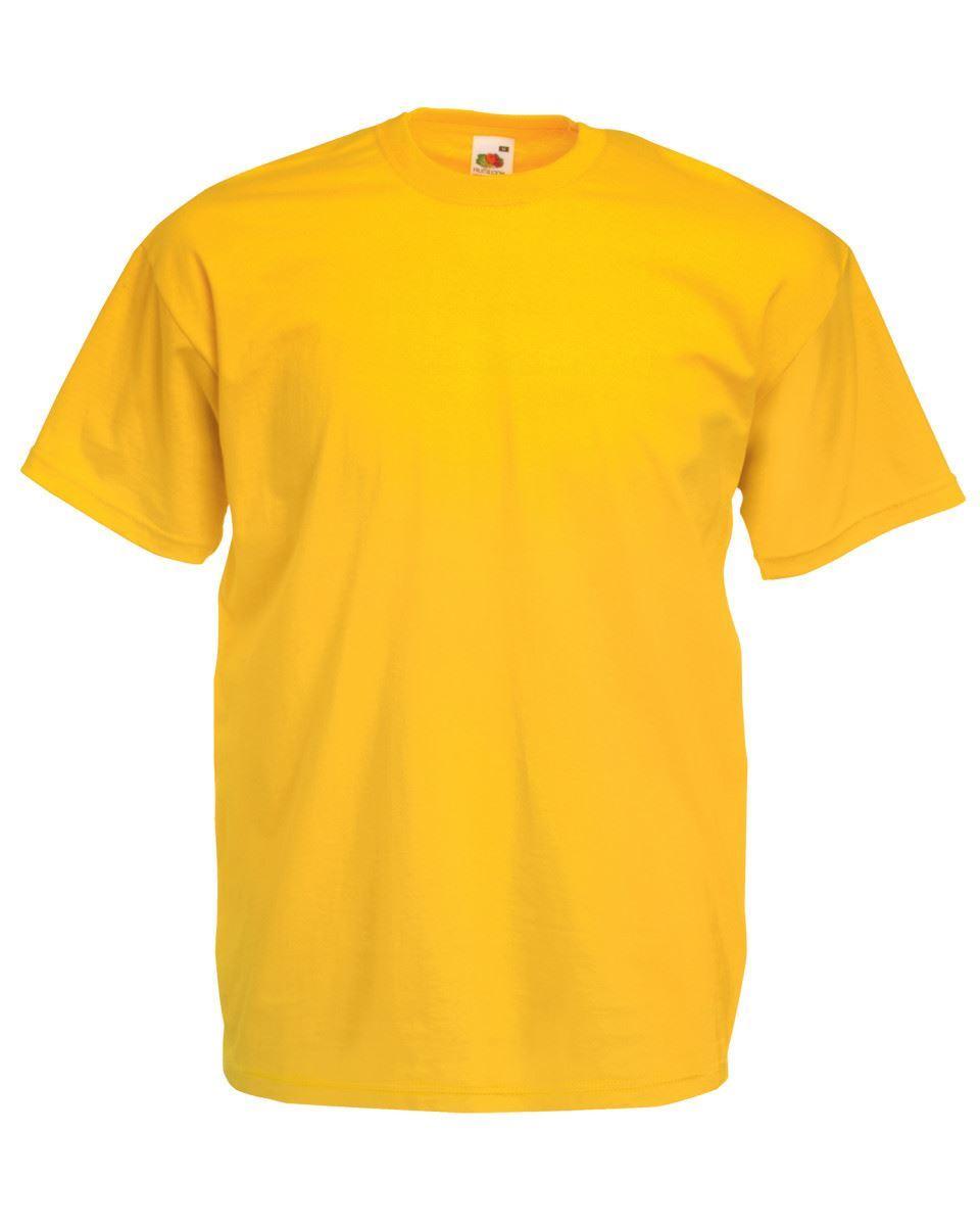 5-Pack-Men-039-s-Fruit-of-the-Loom-Plain-100-Cotton-Blank-Tee-Shirt-Tshirt-T-Shirt thumbnail 295