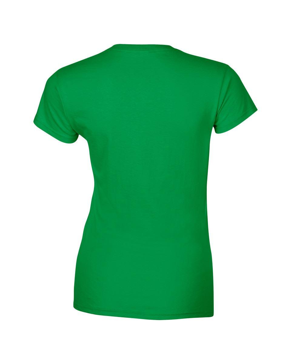 Gildan-Womens-Ladies-Soft-Style-Plain-V-Neck-T-Shirt-Cotton-Tee-Tshirt thumbnail 92