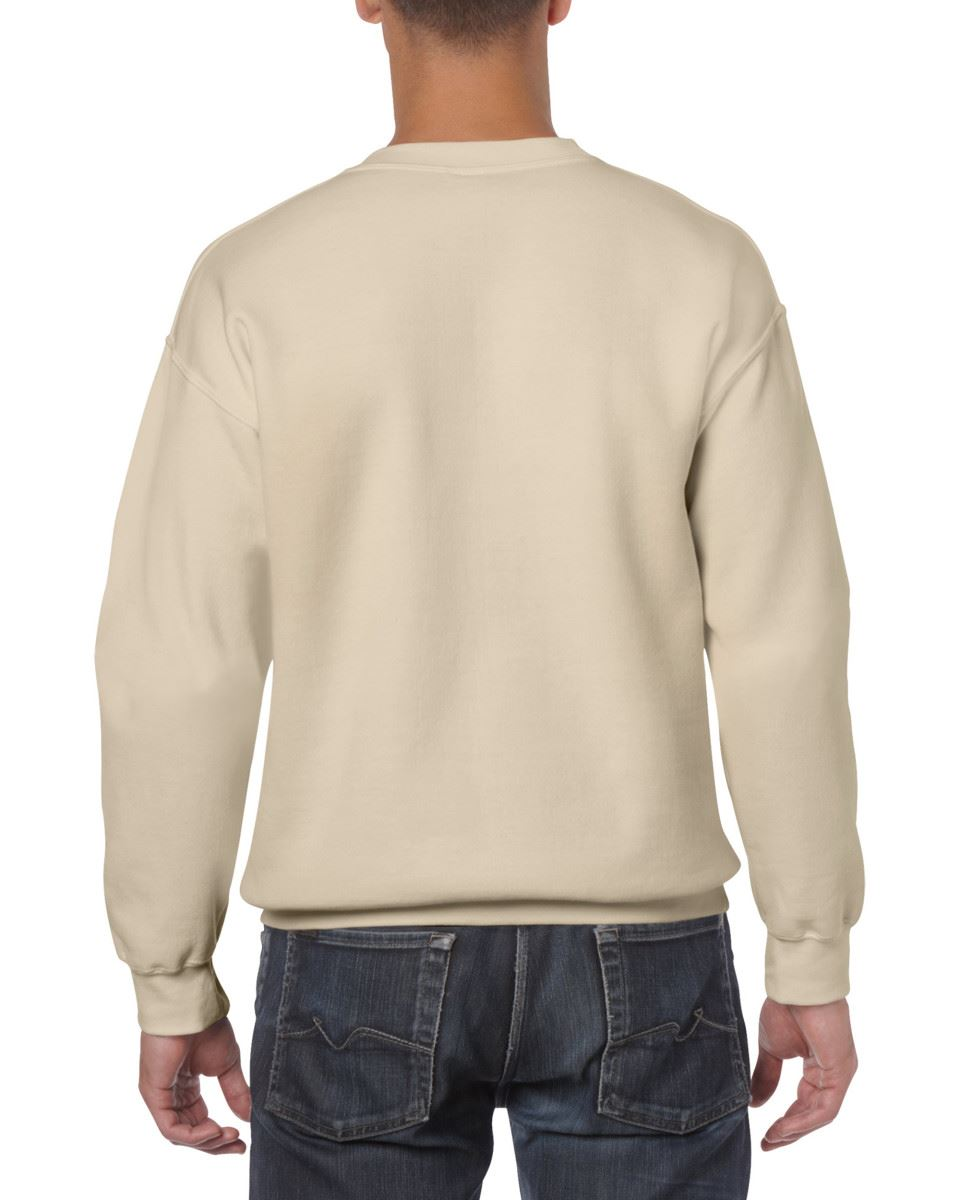 Gildan-Heavy-Blend-Adult-Crew-Neck-Pullover-Sweatshirt-Sweater-Workwear-Uniform thumbnail 147