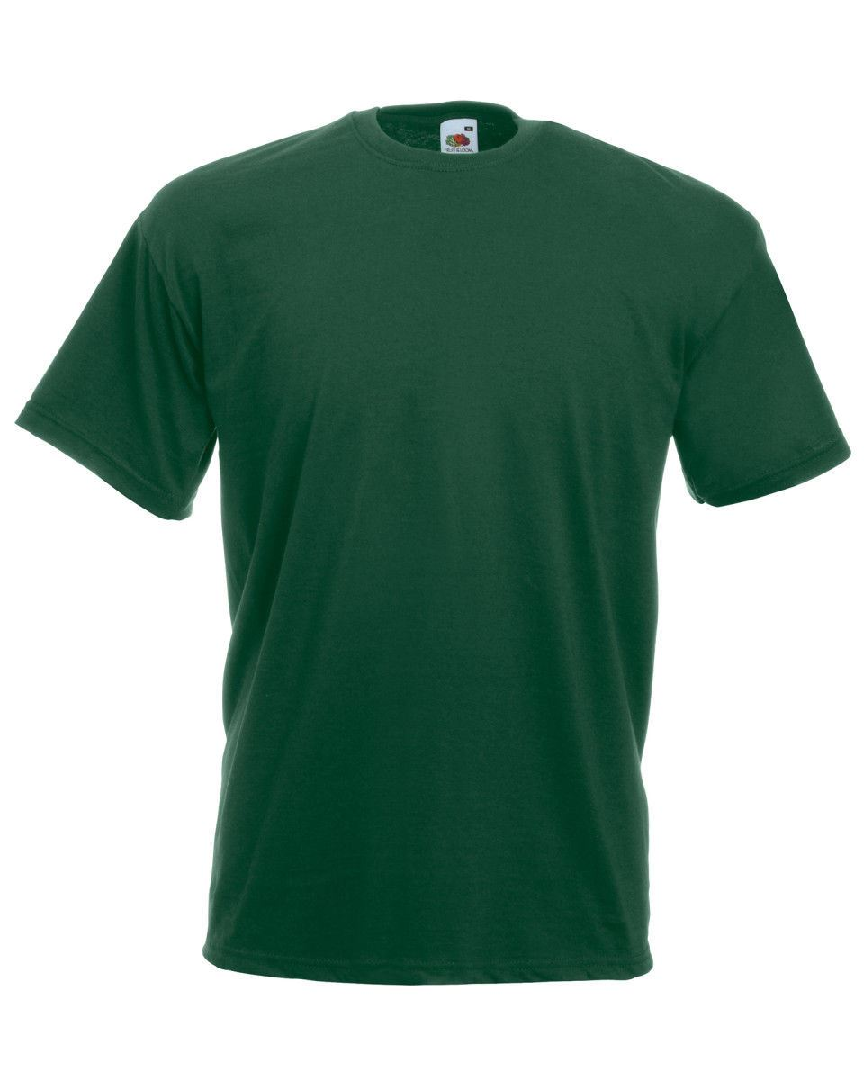 Fruit-Of-The-Loom-Mens-Womens-Valueweight-Plain-Crew-Neck-T-Shirt-Tee-Cotton thumbnail 34