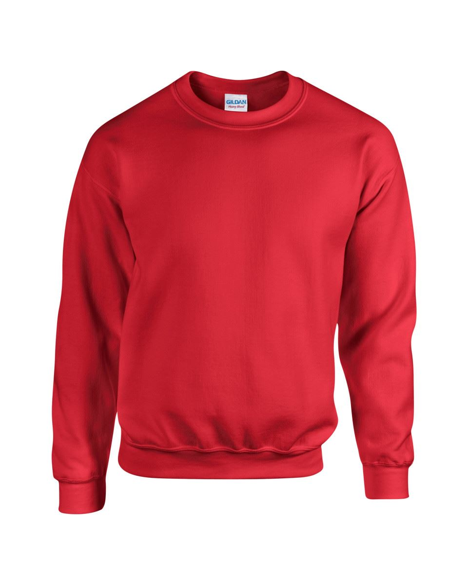 Gildan-Heavy-Blend-Adult-Crew-Neck-Pullover-Sweatshirt-Sweater-Workwear-Uniform thumbnail 25