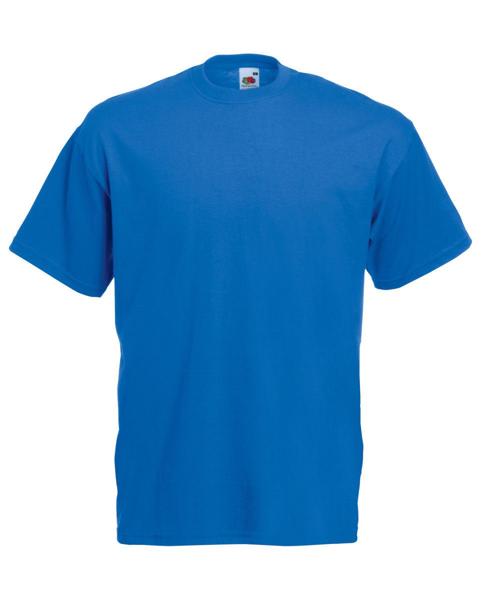 Fruit-Of-The-Loom-Mens-Womens-Valueweight-Plain-Crew-Neck-T-Shirt-Tee-Cotton thumbnail 148