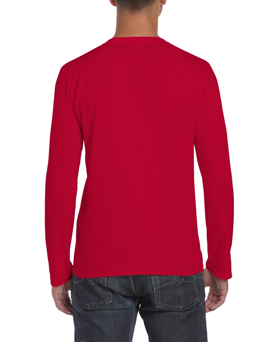 Gildan-MEN-039-S-LONG-SLEEVE-T-SHIRT-SOFT-COTTON-PLAIN-TOP-SLEEVES-CASUAL-NEW-S-2XL thumbnail 32