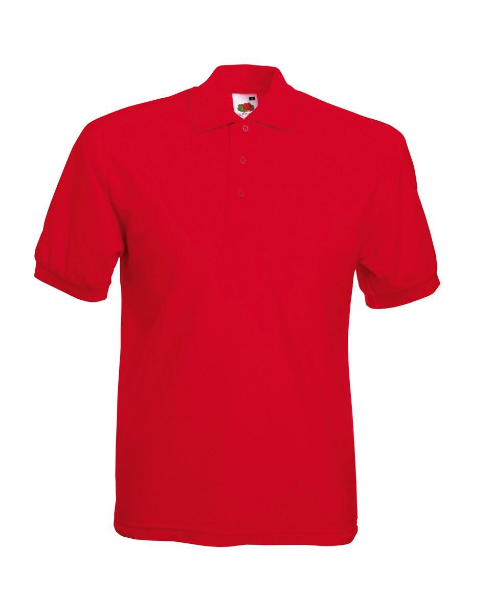 Fruit-of-the-Loom-Plain-Cotton-Mens-Polo-Shirts-T-Shirt-Short-Sleeve-Tshirt thumbnail 22