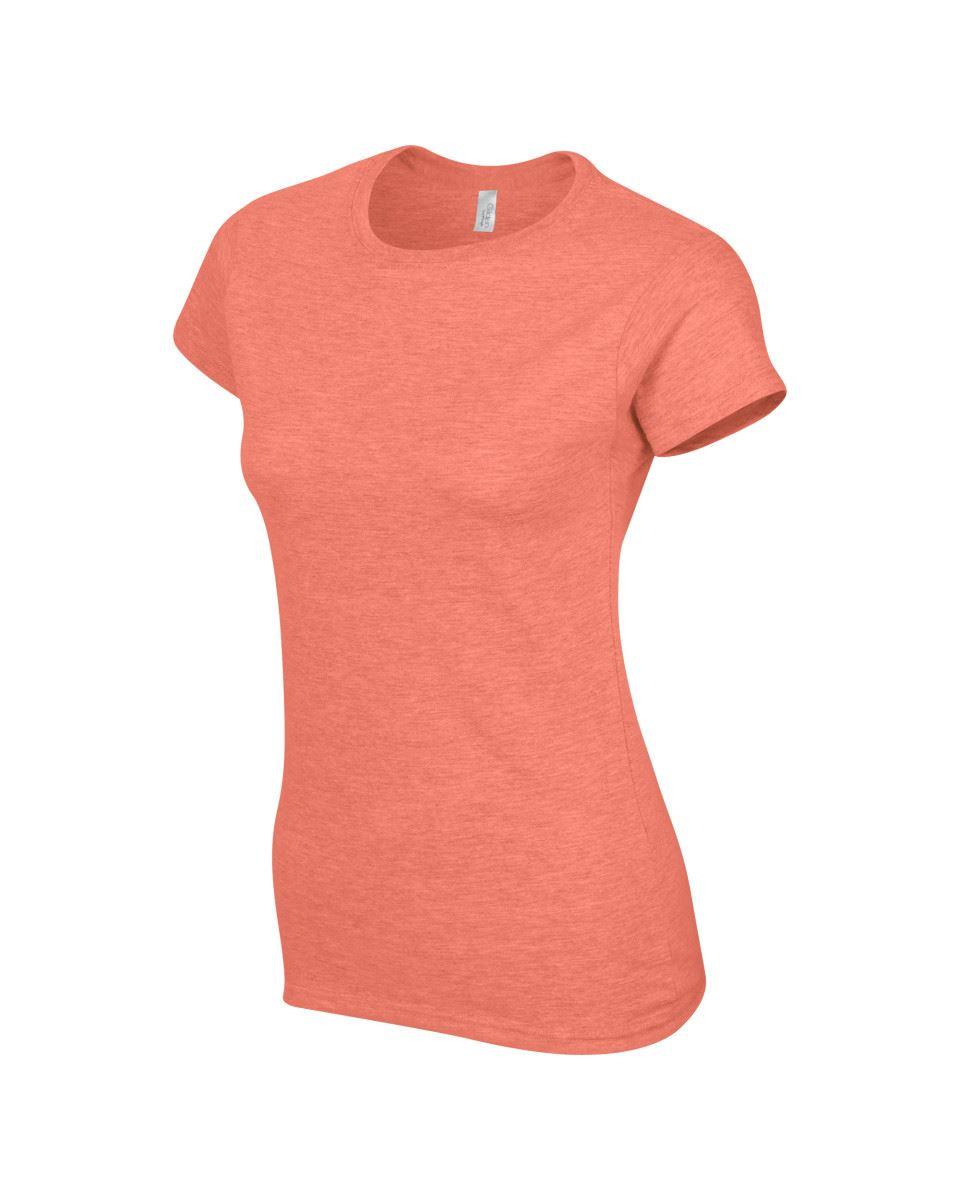 Gildan-Womens-Ladies-Soft-Style-Plain-V-Neck-T-Shirt-Cotton-Tee-Tshirt thumbnail 73