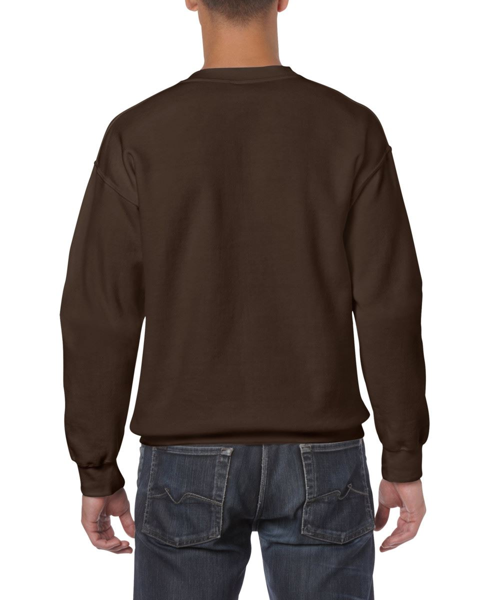 Gildan-Heavy-Blend-Adult-Crew-Neck-Pullover-Sweatshirt-Sweater-Workwear-Uniform thumbnail 61