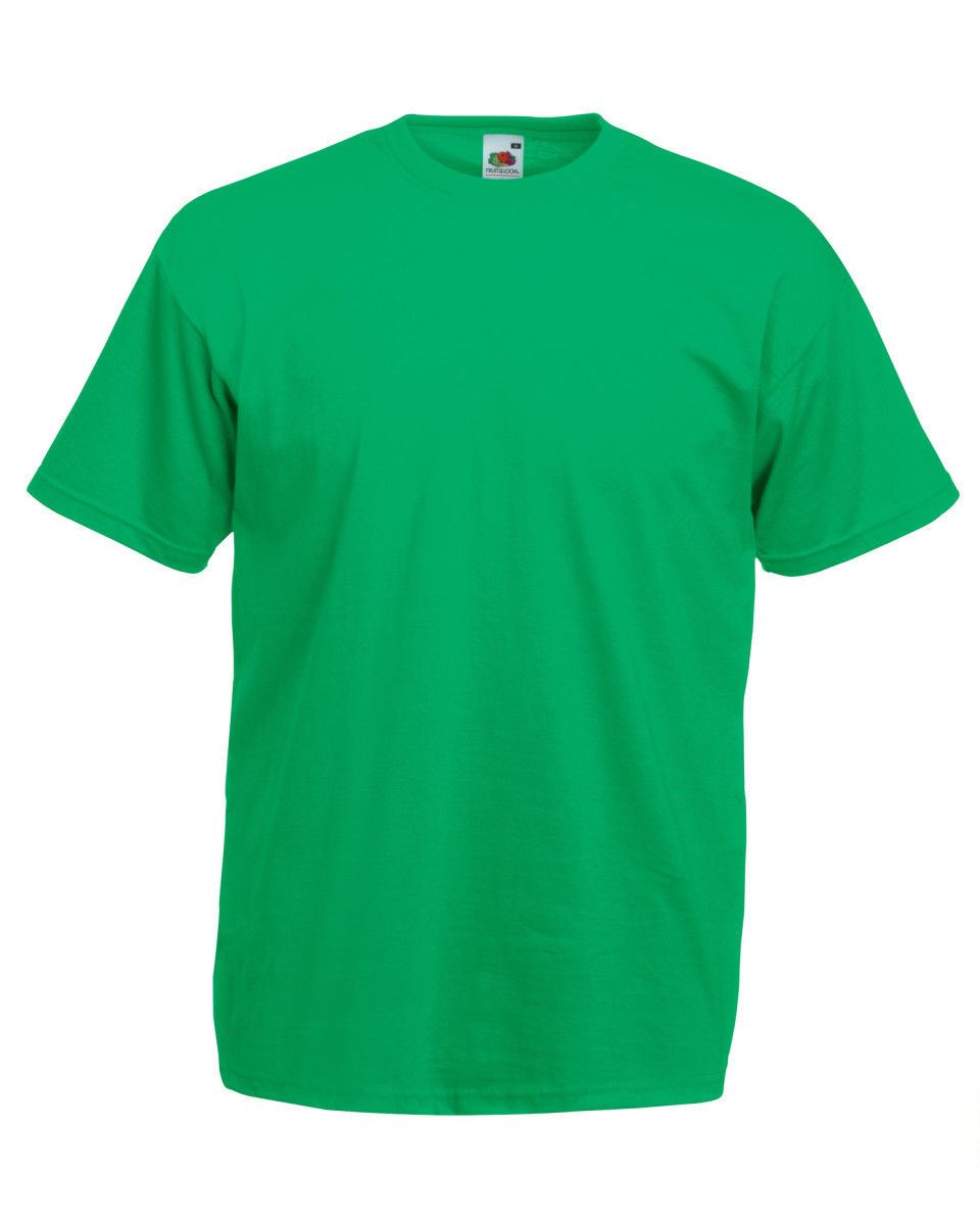 Fruit-Of-The-Loom-Mens-Womens-Valueweight-Plain-Crew-Neck-T-Shirt-Tee-Cotton thumbnail 81