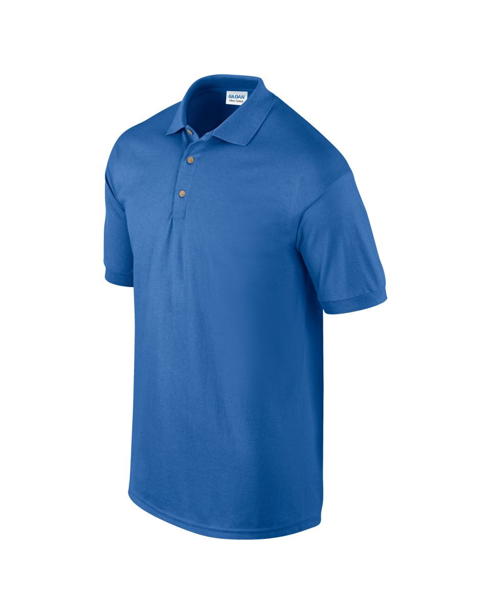5-Pack-Gildan-Ultra-Cotton-Adult-Pique-Plain-Polo-Shirt-Tee-T-Shirt-Ringspun thumbnail 59