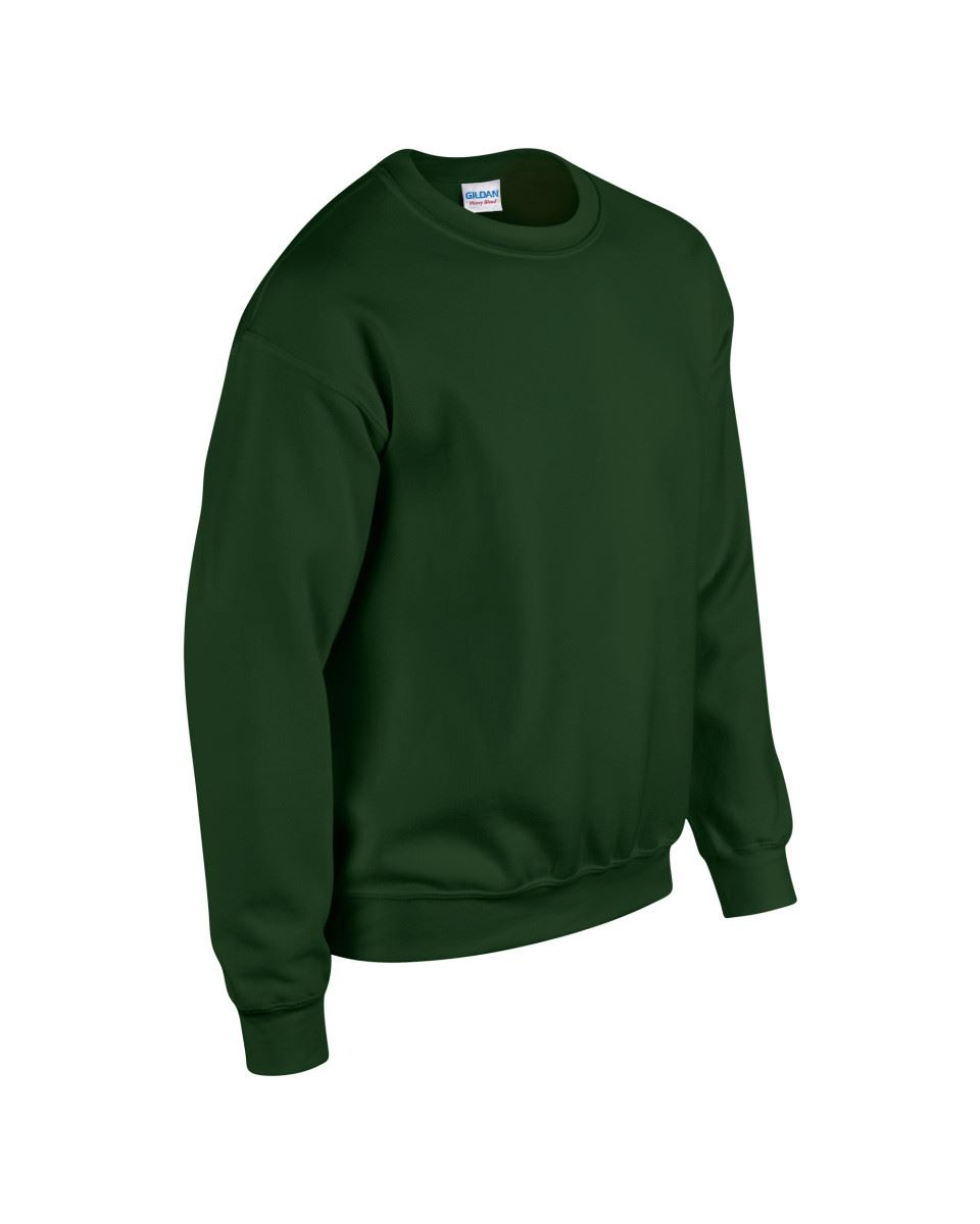 Gildan-Heavy-Blend-Adult-Crew-Neck-Pullover-Sweatshirt-Sweater-Workwear-Uniform thumbnail 73