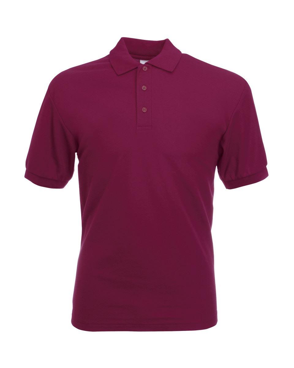 Fruit-of-the-Loom-Plain-Cotton-Mens-Polo-Shirts-T-Shirt-Short-Sleeve-Tshirt thumbnail 6