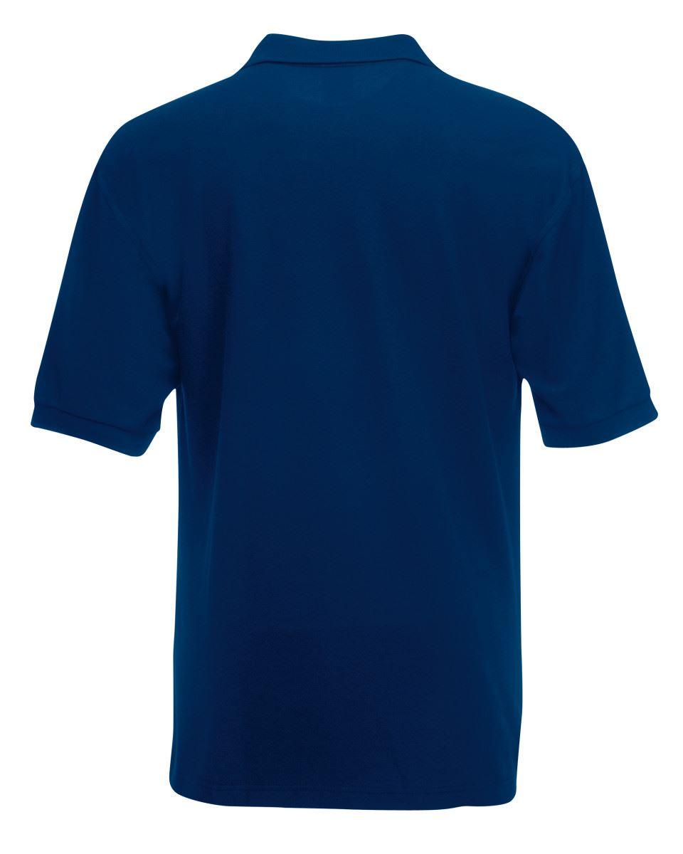 Mens-Polo-Shirts-Fruit-of-the-Loom-Premium-Polo-100-Cotton-Polo-Shirt-SS255 thumbnail 33