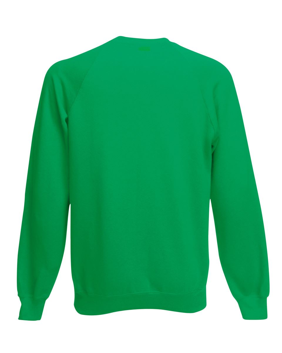 Mens-Sweatshirt-Fruit-Of-The-Loom-Raglan-Sweat-Pullover-Plain-Top-Jumper-Sweater thumbnail 25