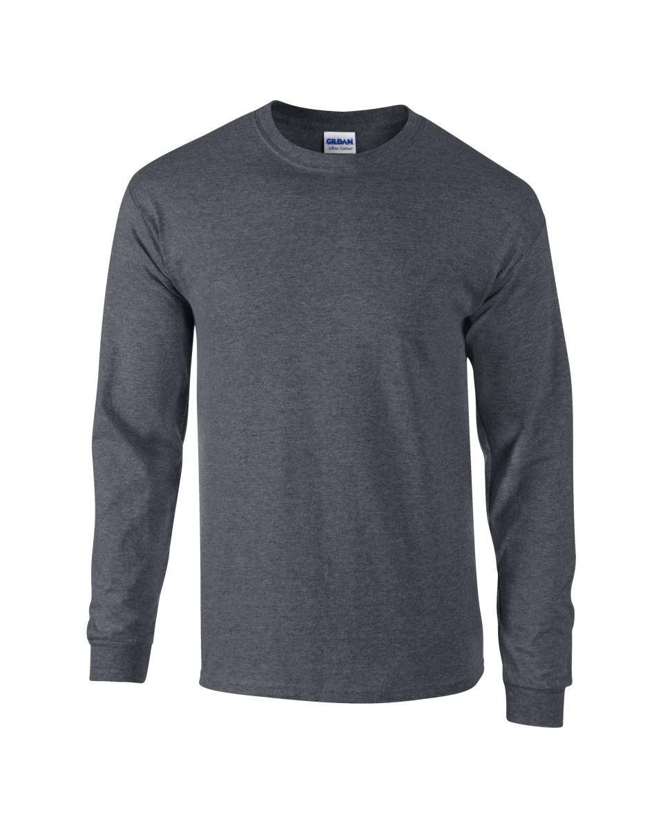 Gildan-Mens-Ultra-Cotton-Adult-Long-Sleeve-Plain-T-Shirt-Tshirt-Cotton-Tee-Shirt thumbnail 60