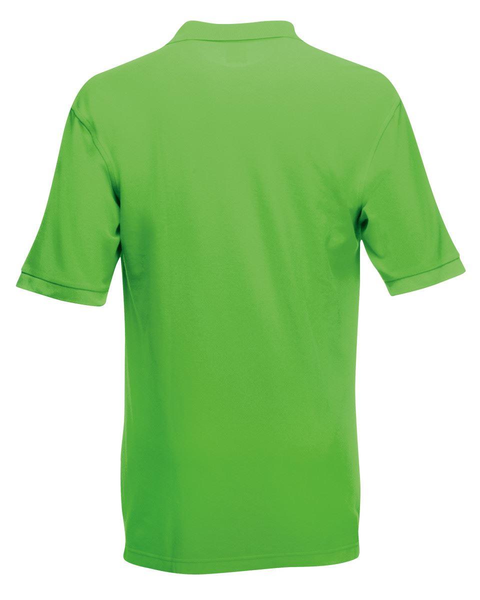 Mens-Polo-Shirts-Fruit-of-the-Loom-Premium-Polo-100-Cotton-Polo-Shirt-SS255 thumbnail 31