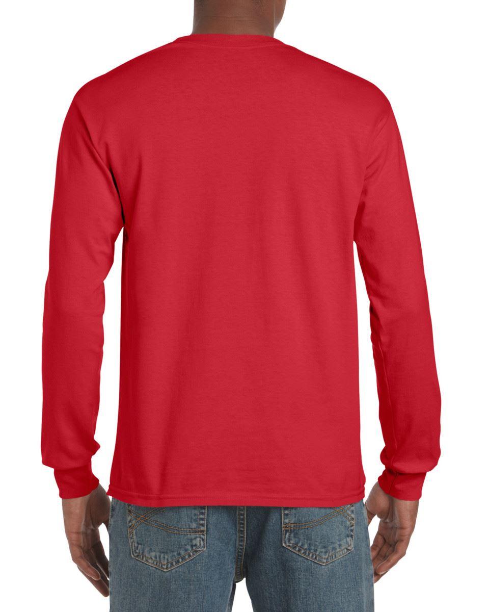 Gildan-Mens-Ultra-Cotton-Adult-Long-Sleeve-Plain-T-Shirt-Tshirt-Cotton-Tee-Shirt thumbnail 24