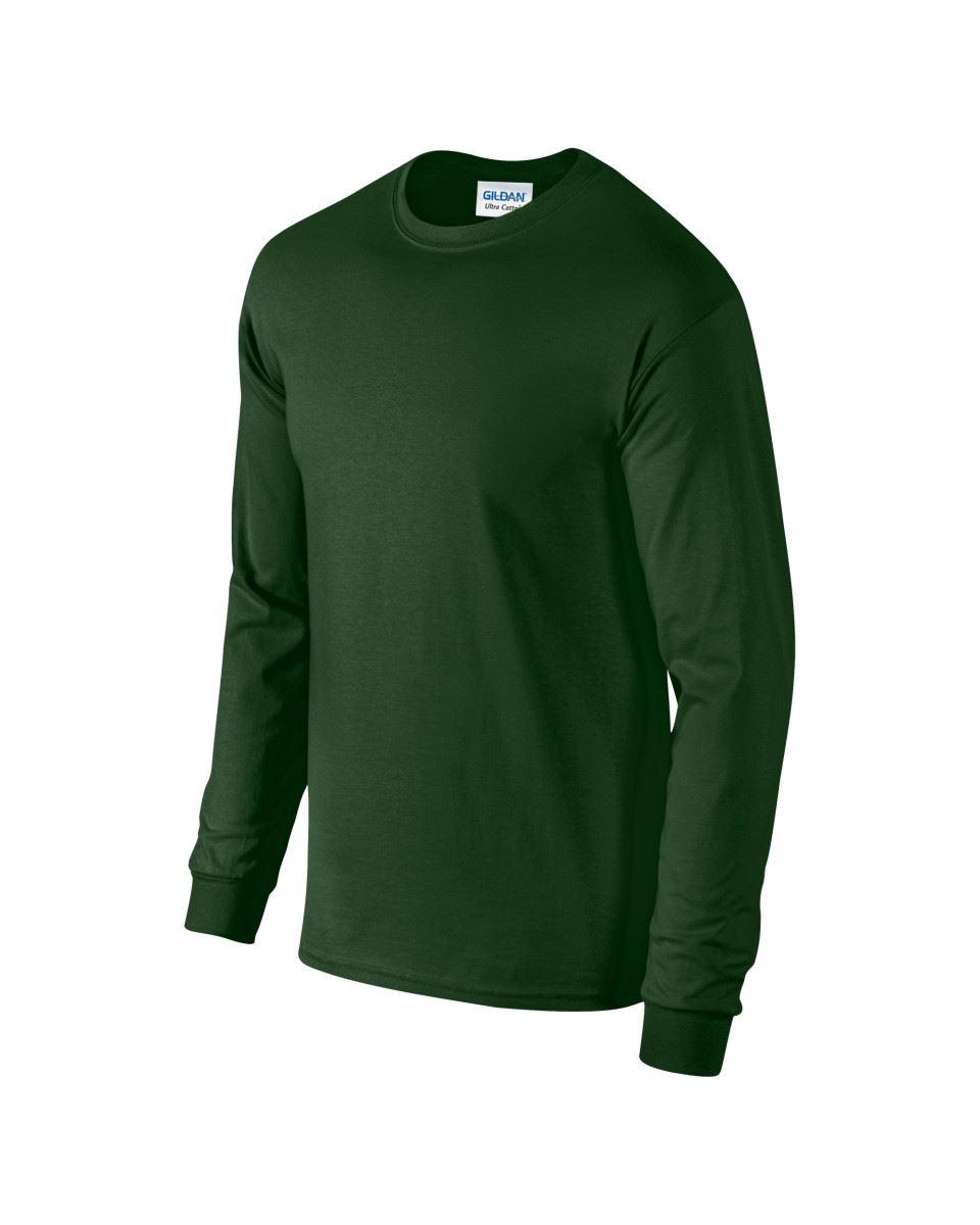 Gildan-Mens-Ultra-Cotton-Adult-Long-Sleeve-Plain-T-Shirt-Tshirt-Cotton-Tee-Shirt thumbnail 66