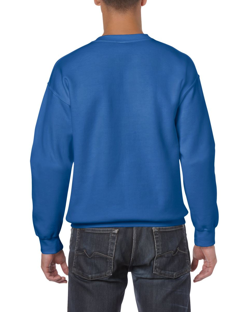 Gildan-Heavy-Blend-Adult-Crew-Neck-Pullover-Sweatshirt-Sweater-Workwear-Uniform thumbnail 29
