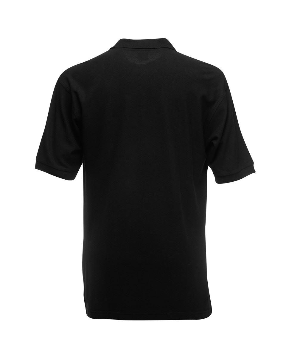 Fruit-of-the-Loom-Plain-Cotton-Mens-Polo-Shirts-T-Shirt-Short-Sleeve-Tshirt thumbnail 3