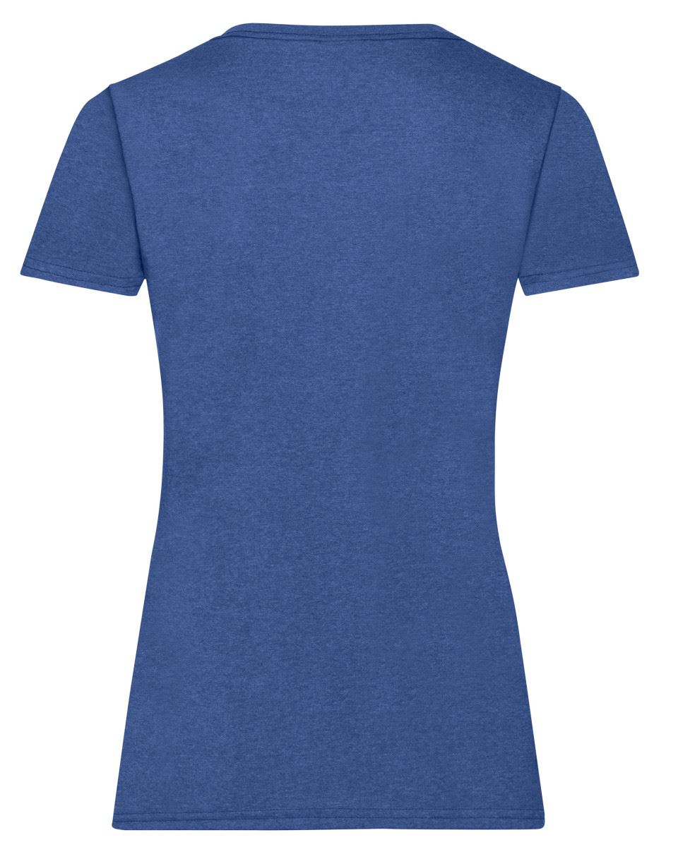 Fruit-of-the-Loom-Womens-Lady-Fit-T-Shirt-Valueweight-Plain-Blank-T-Shirt-Top