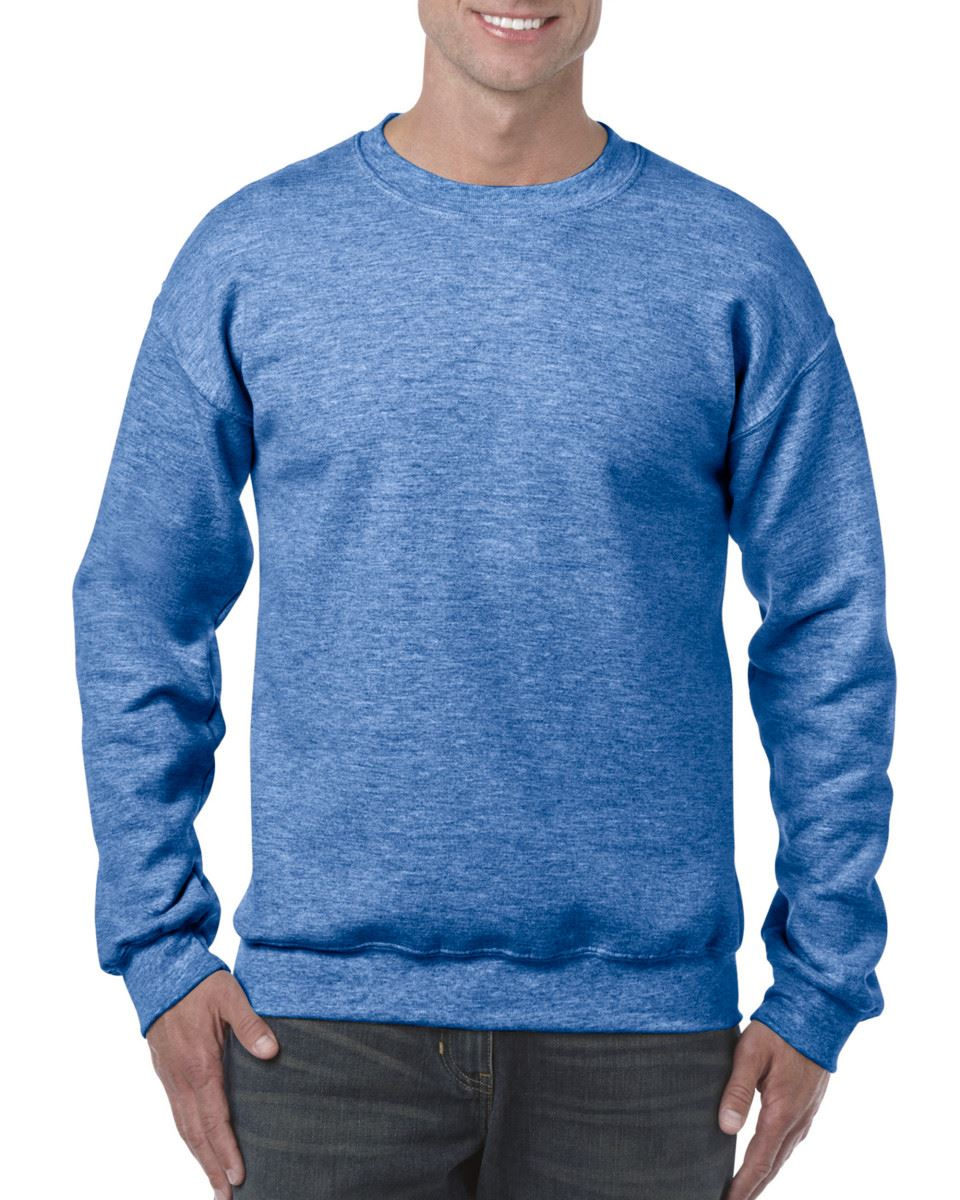 Gildan-Heavy-Blend-Adult-Crew-Neck-Pullover-Sweatshirt-Sweater-Workwear-Uniform thumbnail 90