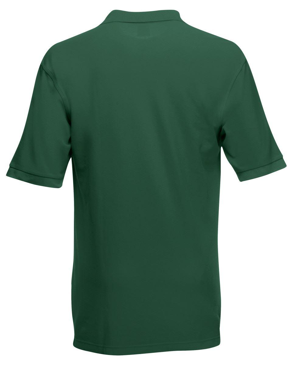 Mens-Polo-Shirts-Fruit-of-the-Loom-Premium-Polo-100-Cotton-Polo-Shirt-SS255 thumbnail 11