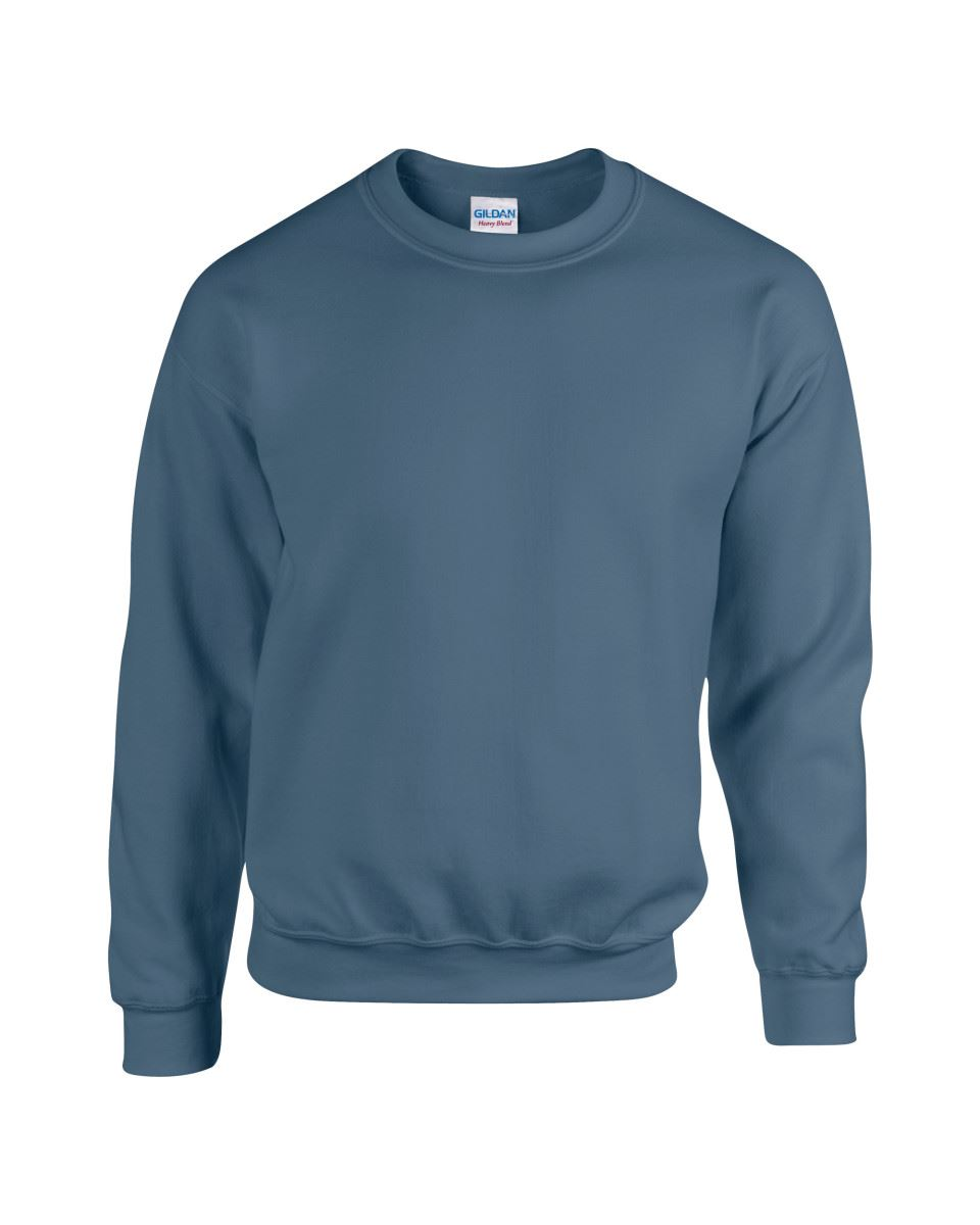 Gildan-Heavy-Blend-Adult-Crew-Neck-Pullover-Sweatshirt-Sweater-Workwear-Uniform thumbnail 114