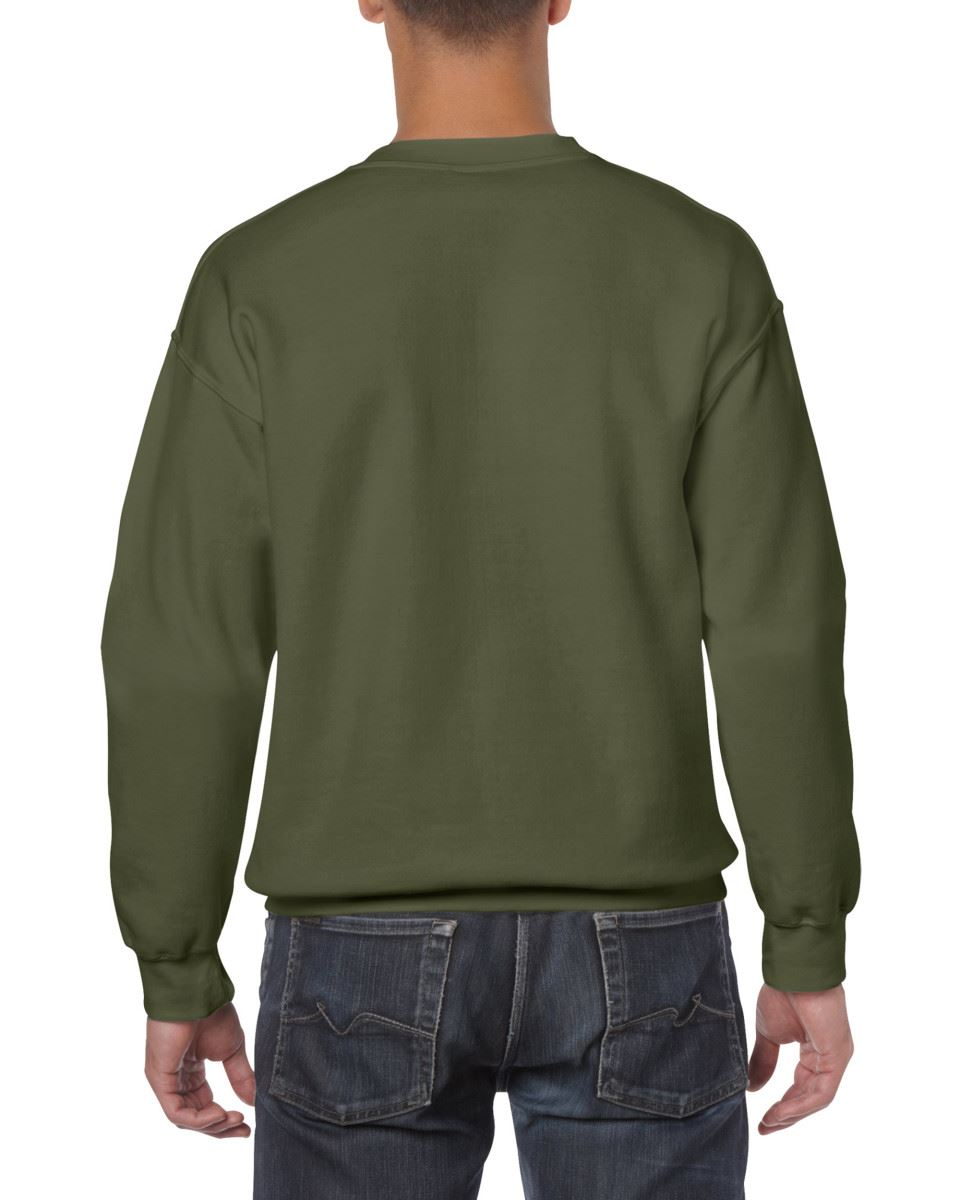 Gildan-Heavy-Blend-Adult-Crew-Neck-Pullover-Sweatshirt-Sweater-Workwear-Uniform thumbnail 123